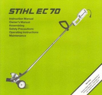 BA EC 70 US - Stihl