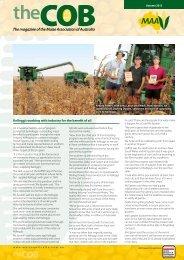 Autumn 2012 Edition - Maize Association of Australia
