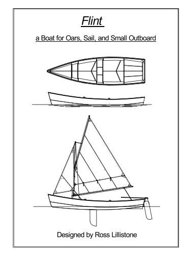 Flint – A Boat For Oars, Sail, And Small - Bayside Wooden Boats ...