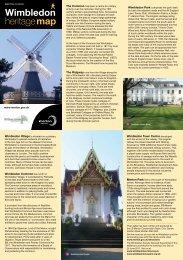 Wimbledon heritage map - Merton Council