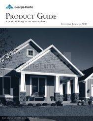 GP Vinyl Product Guide 2011 - BlueLinx