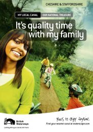 It's quality time with my family - Canal & River Trust