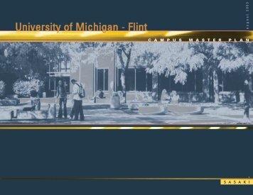 SASAKI: Campus Master Plan - University of Michigan-Flint