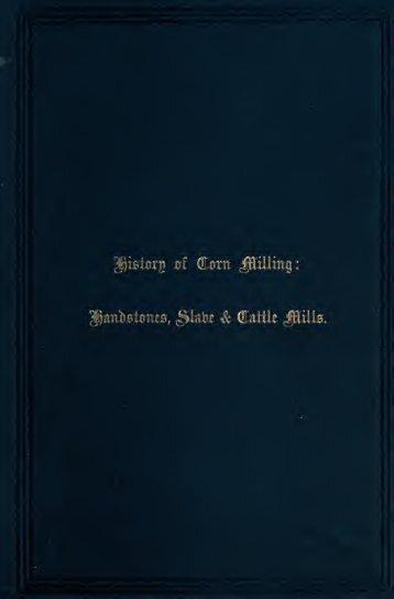 History of corn milling .. - Centrostudirpinia.it