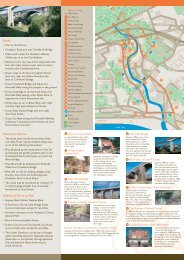 Self-guide heritage walk leaflet - Ouseburn Trust