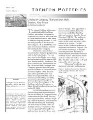POTS March 2008 newsletter revised - Potteries of Trenton Society