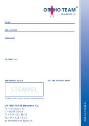 STEMPEL - Ortho-Team
