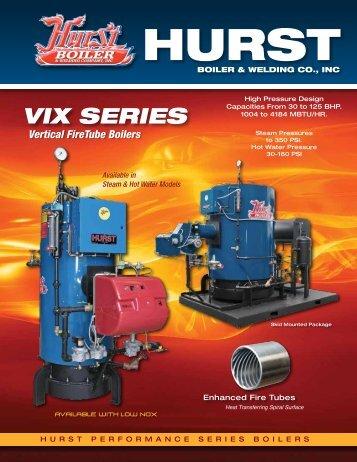 Vertical FireTube Boilers - Hurst Boiler