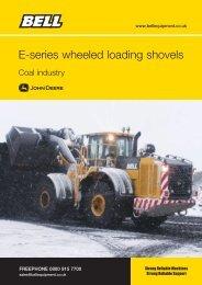 E-series wheeled loading shovels - Bell Equipment