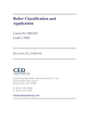 Individual Boiler Engineer License Exam Application. - Advanced ...