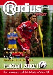Radius Fußball 2010