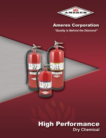 High Performanc Brochure - Amerex Corporation