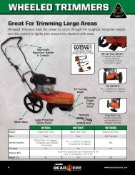 WHEELED TRIMMERS - Bear Cat