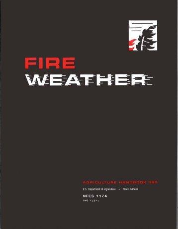 Fire Weather Handbook - NWCC