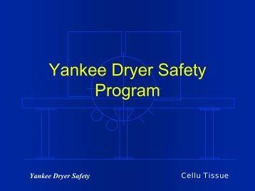 Yankee Dryer Safety