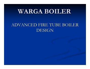 advanced boiler technology-warga boiler