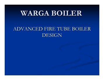 advanced boiler technology-warga boiler
