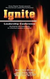 Leadership Conference - Gracebt.com