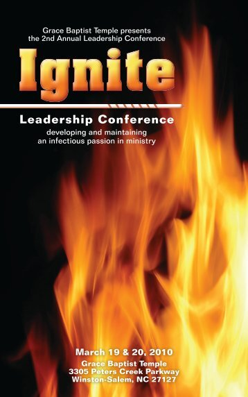 Leadership Conference - Gracebt.com