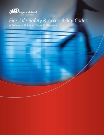 Fire, Life Safety & Accessibility Codes - Von Duprin