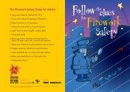*A5 Firework Kids Leaflet