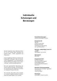 Individuelle Schulungen und Beratungen - Ortega Schule