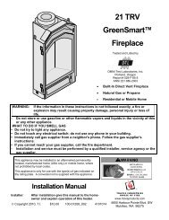 21 TRV GreenSmart™ Fireplace – FireplaceX | Fireplaces