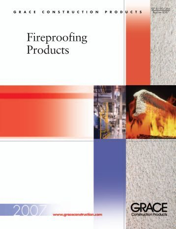Fireproofing Products - Grace Construction Products