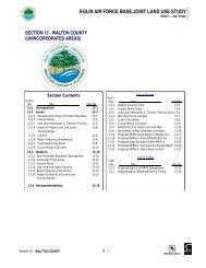 Sec 13 - Walton County (unincorporated areas) - Okaloosa County ...