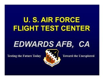 EDWARDSAFB CA EDWARDS AFB, CA - Edwards Air Force Base