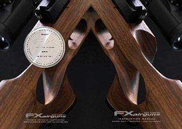 instruction manual - FX Airguns