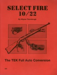 Ruger 10-22 Select Fire Full Auto Conversion - Modern Survival ...