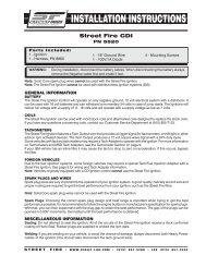 Street Fire CDI - MSD Ignition