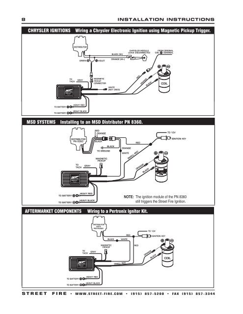 Street Fire CDI - MSD Ignition on hei module wiring diagram, msd 6al box wiring diagram, gm hei ignition wiring diagram, mallory comp 9000 distributor diagram, msd ignition wiring diagram, unilite distributor parts diagram, interior wiring diagram, electronic ignition diagram, 4 wire ignition switch diagram, hei distributor diagram, ford ignition wiring diagram, mallory ignition wiring diagram,