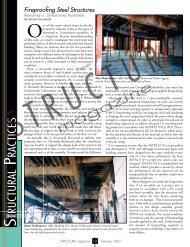 Fireproofing Steel Structures - STRUCTUREmag