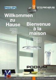 Willkommen zu Hause Bienvenue à la maison - Otto Fischer AG