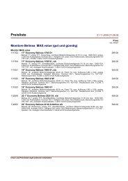 Händler-Preisliste total HEK/MRP