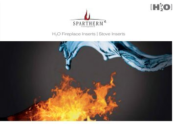 H2O Fireplace Inserts | Stove Inserts - Spartherm