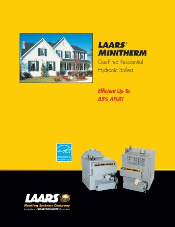 Laars Mini-Therm Brochure