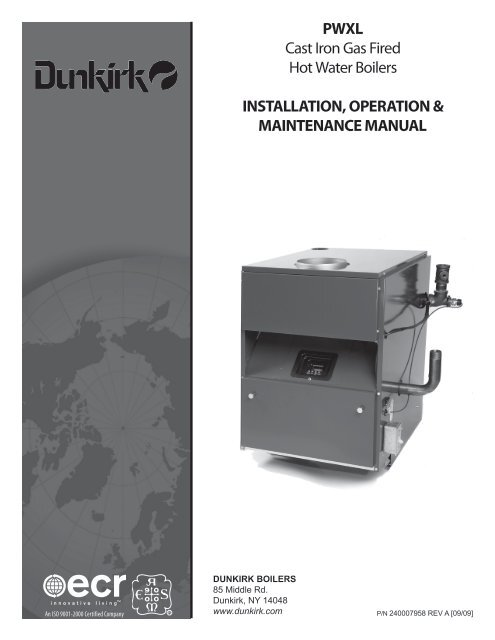 PWXL Cast Iron Gas Fired Hot Water Boilers ... - Dunkirk Dunkirk Boiler Wiring Diagrams on fireplace wiring diagram, tekmar wiring diagram, central heating wiring diagram, bell and gossett wiring diagram,