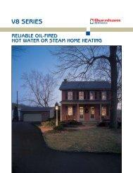 V8™ Series oil steam/water boiler