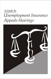 Unemployment Insurance Appeals Hearings - State of Michigan