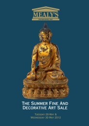 The Summer Fine And Decorative Art Sale - Mealys Auctions