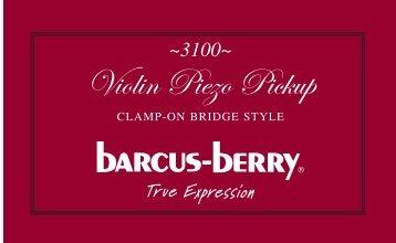 Violin Piezo Pickup - Barcus Berry