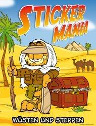 Stickermania Nr. 2. Wüsten und Steppen - Spar
