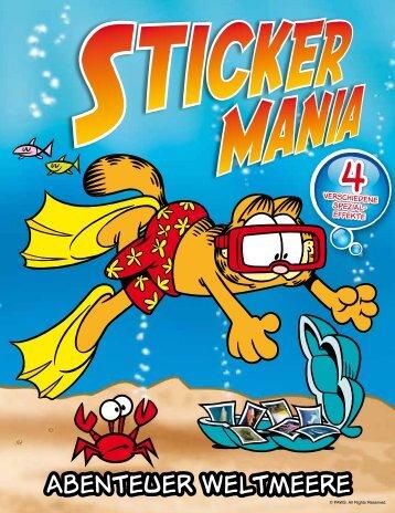 Stickermania Nr. 4. Abenteuer Weltmeere - Spar