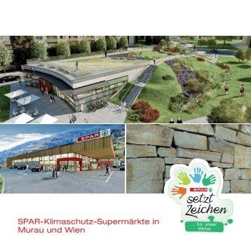 SPAR-Klimaschutz-Supermärkte in Murau und Wien
