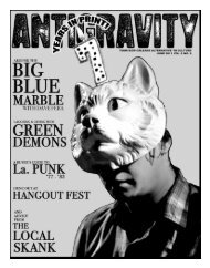 June 2011 (PDF) - Antigravity Magazine