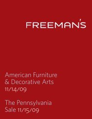 PDF-Catalogue - Freeman's Auctioneers