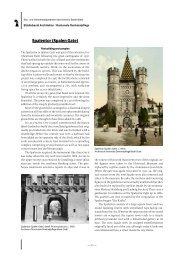 Spalentor (Spalen Gate) - Denkmalpflege
